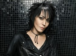 Photograph of Joan Jett and the Blackhearts who will be performing at the 2012 San Diego County Fair on June 19th at 7:30pm.