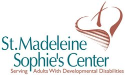 Logo for St. Madeleine Sophie&#39;s Center. 