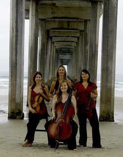 Image of Quartet Nouveau, who will be performing at the University of San Diego on November 17th, 2012.