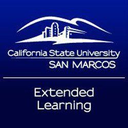 Logo for CSU San Marcus Temecula Extended Learning.