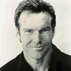 "Image of Dennis Quaid who will be performing at the Belly Up with his band ""The Sharks"" on December 22nd, 2012."