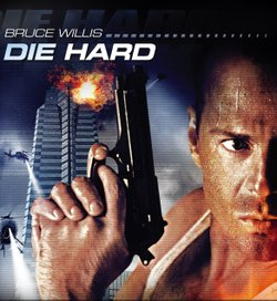 "Promotional movie poster of ""Die Hard"" (1988)."