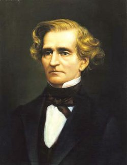 Image of Hector Berlioz, composer of &quot;Symphonie fantastique.&quot;