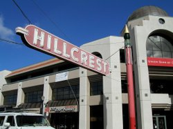 Image of Hillcrest welcome sign.