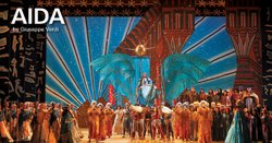 "Promotional graphic for the performance of ""Aida"" at the San Diego Civic Theatre on April 20, 23, 26 and 28, 2013. Courtesy of San Diego Civic Theatre."