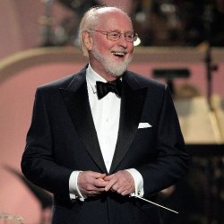 Photograph of John Williams, who will be performing at the Copley Symphony Hall on December 7th &amp; 8th. 