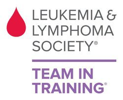 Graphic logo for The Leukemia &amp; Lymphoma Society's Team In Training.
