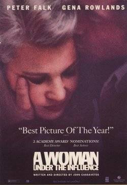 "Promotional graphic for the film, ""A Woman Under the Influence"""