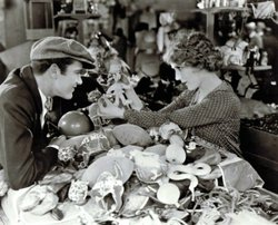 "Image from the film, ""My Best Girl (1927)"" starring Mary Pickford and Buddy Rogers."