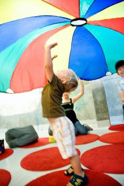 Promotional image of Fall Break Day Camp at New Children&#39;s Museum. Courtesy of New Children&#39;s Museum. 