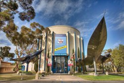 Exterior image of San Diego Air & Space Museum.