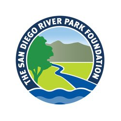 Graphic logo for the San Diego River Park Foundation.