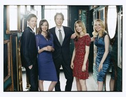 Promotional image of the 5 Browns -  performing at Copely Symphony Hall on April 19th &amp; 20th at 8 p.m. 
