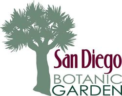 Graphical logo of the San Diego Botanic Garden.