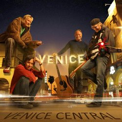 Promotional graphic for The Venice Christmas Show at the Belly Up on December 20th, 2012.