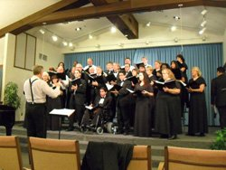 Promotional image of Grossmont Symphony Orchestra and Master Chorale. 