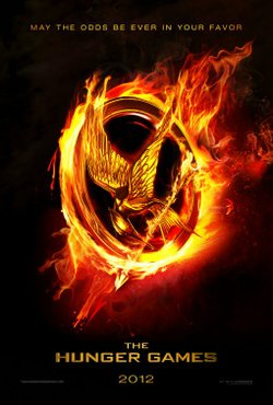 Promotional graphic for the film, &quot;The Hunger Games&quot; which will be playing at The Pearl Hotel on November 7th, 2012. 