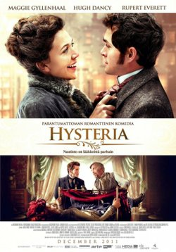 Promotional graphic for the film, &quot;Hysteria&quot;