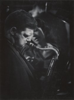 W. Eugene Smith, Zoot Sims, c. 1957-1964. Collection of the W. Eugene Smith Archive, Center for Creative Photography.