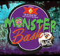 Promotional graphic for the Monster Bash- Halloween Block Party on October 27th, 2012.