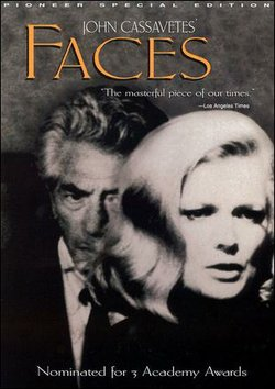 Promotional graphic for the film, &quot;Faces,&quot; which will be screening at the Central Public Library on November 9th. 