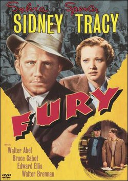 "Promotional graphic for the film, ""Fury (1936)"" that will be screening at the San Diego Central Library on August 24th."