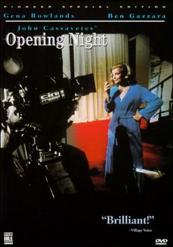 "Promotional graphic for the film, ""Opening Night"" which will be screening at the Central Public Library on November 30th."
