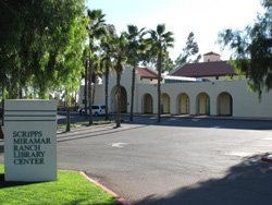 Exterior view of the Scripps Miramar Ranch Library Center