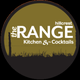 Logo for The Range Kitchen & Cocktails.