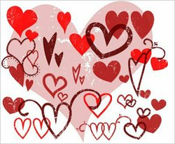 Promotional graphic for the Valentine's Day Card Making Benefit for Susan G. Komen. Courtesy of Susan G. Komen.