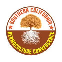 Graphic logo for Southern California Permaculture Convergence 2013 on March 9th and 10th.