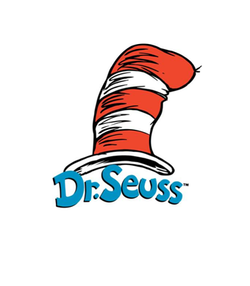 Promotional graphic for Dr. Suess.