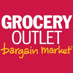 "Graphic logo for Casa de Oro Grocery Outlet ""Bargain Market""."