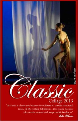 Promotional graphic for Classic Dance Collage 2013. Courtesy of San Diego Civic Dance Arts, in partnership with San Diego Civic Dance Association.