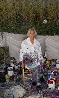 Image of artist, Diana Carey.