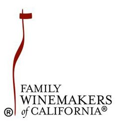 Graphic logo for Family Winemakers of California coming to the Del Mar Fairgrounds on March 9 & 10.