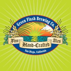 Graphic logo for Green Flash Brewing Co.
