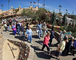 Promotional image of San Diego Spring Home/ Garden Show at the Del Mar Fairgrounds. 