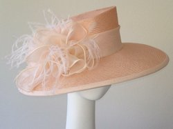 Promotional graphic for the Jill Courtemanche Millinery, who will be hosting a Hat Making Workshop on Saturday, February 16th. 