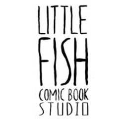 Graphic logo for Little Fish Comic Studio.