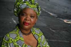 Image of Leymah Gbowee, who will be speaking at USD on March 13th, 2013.