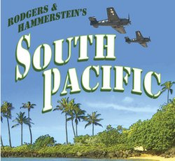 "Promotional graphic for ""South Pacific"" being performed at the Welk Resort Theatre. Courtesy of the Welk Resort Theatre."