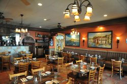 Interior photo of Trattoria Fantastica, located at 1735 India Street San Diego, CA 92101. Photo courtesy of Trattoria Fantastica