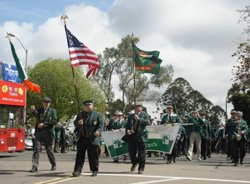 Promotional image of the St. Patrick&#39;s Day Parade and Festival on March 16, 2013.