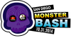 Graphic logo for the 2014 San Diego Monster Bash.