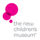 Graphic logo of The New Children's Museum.