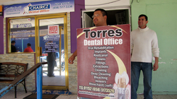 In Los Algodones, Mexico, workers lure passers-by into dental offices promising affordable care, including cleanings and root canals.