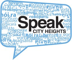 Speak City Heights is a media collaborative aimed at amplifying the voices of residents in one of San Diego's most diverse neighborhoods. (Read more)