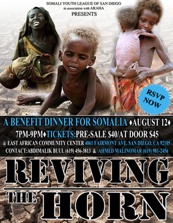 Local Fundraiser For Somali Famine