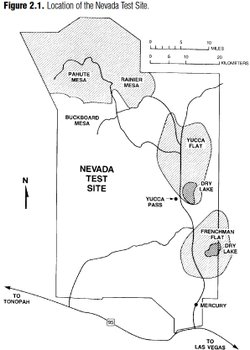 History of the Nevada Test Site and Nuclear Testing Background
